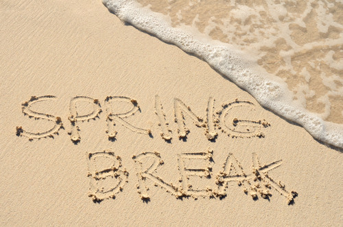 How to Save Energy Costs While on Spring Break
