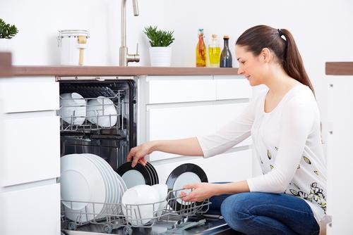 dishwasher water use vs hand washing