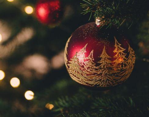 hanging christmas